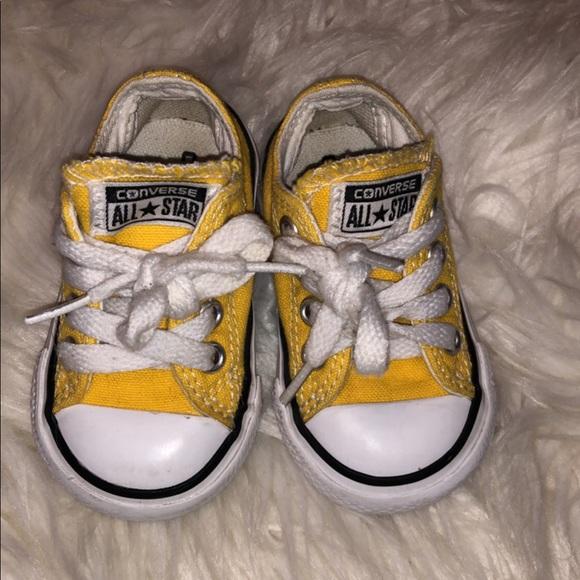Converse Shoes | Yellow Size 3 | Poshmark